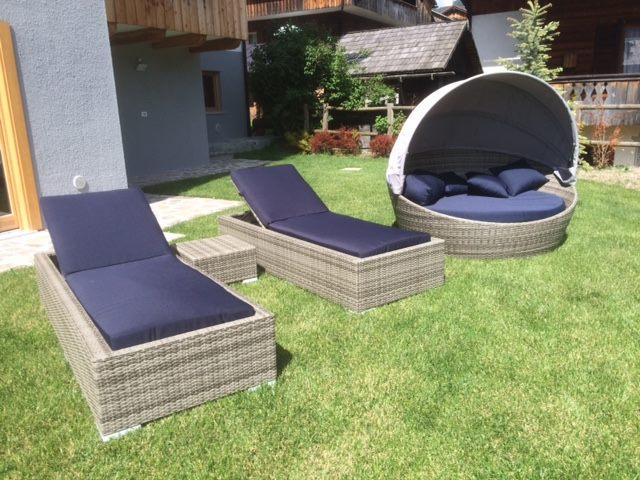 Lettini Prendisole Rattan Sintetico.Outdoor Solutions Speciale Giardino Aea Solutions